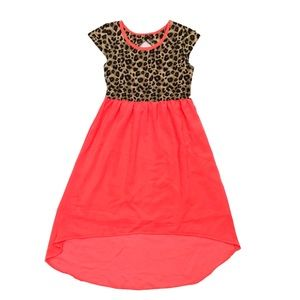 Girls Summer Dress Animal Print Size L (10/12)